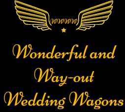 Wonderful and Way-out Wedding Wagons